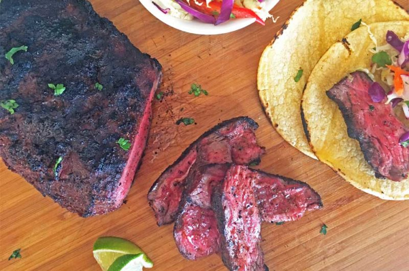 Mexican Spice Rubbed Steak